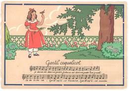 Cpa SignéeJack - Barre Dayez 1385 H - Gentil Coquelicot ( Rondes Enfantines )   ( ILL ) - Illustrators & Photographers