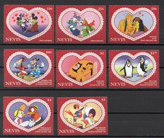 NEVIS  Timbres Neufs ** De 1995 ( Ref 5714 ) Disney - St.Kitts And Nevis ( 1983-...)