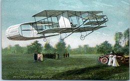 AVION - L'aéroplane Blériot (Publicité Au Dos De La Boucherie Du Bon Marché A. ALLAIZE, Choisy Le Roi) - 1919-1938: Entre Guerres