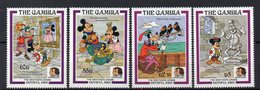 GAMBIE  Timbres Neufs ** De 1985 ( Ref 5715 ) Disney - Frères Grimm - Gambie (1965-...)
