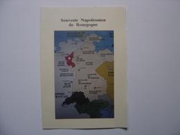 1992 Photo Menu SOUVENIR NAPOLEONIEN De BOURGOGNE L'ALLEMAGNE Et NAPOLEON - Documentos