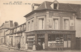 60  Oise  :   Beauvais Un Coin De La Rue De Rouen ( Pub )  Réf 4971 - Beauvais