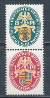 Deutsches Reich Zusammendruck S 50 * Ungebraucht Mi. 11,- - Se-Tenant