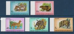 TRINITAD & TOBAGO - YVERT N° 285/289 ** MNH - COTE = 9 EUR. - FAUNE ET FLORE - ANIMAUX - Trinidad & Tobago (1962-...)