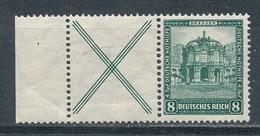Deutsches Reich Zusammendruck W 39 ** Mi. 40,- - Zusammendrucke