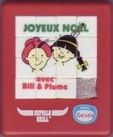Taquin - Pousse Pousse - Buffalo Grill - Joyeux Noël Avec Bill Et Plume - Nestlé/Gervais - Brain Teasers, Brain Games