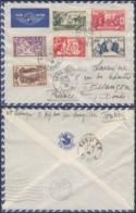 Indochine 1938 - Lettre Par Avion De Lang-Son -Tonkin Vers Besançon -France  Ref. (DD226) DC-MV-226 - Used Stamps