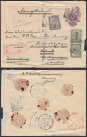 Indes Néerlandaises 1908 - Entier Postal Recommandé De Bandoeng Vers London.  Ref. (DD317) DC-MV-317 - Indes Néerlandaises