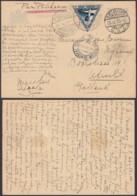 Indes Néerlandaises 1933 - Entier Postal Par Avion Par Pelikaan Vers Utrech-Pays Bas Ref. (DD322) DC-MV-322 - Indes Néerlandaises