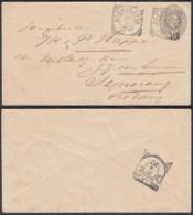 Indes Néerlandaises 1901- Entier Postal De Soerakarta Vers Semarang  Ref. (DD325) DC-MV-325 - Indes Néerlandaises