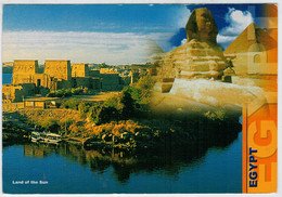 EGYPT    LAND  OF  SUN      MEMORIES  FROM  EGYPT       2  SCAN  (VIAGGIATA) - Hurghada