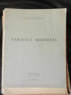8) SUCCESSION DE M. Et M.me X TABLEAUX MODERNES 1956 CATALOGO ASTA DESSIN AQUARELLES BRONZES E ALTRO - Altri