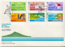 Azores Set On FDC - Other