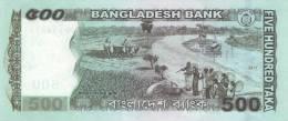 BANGLADESH P. 58a 500 T 2011 UNC - Bangladesh