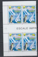 TAAF 1997 Escale Imprevue Aux Kerguelen / Penguin 1v Bl Of 4 ** Mnh (40895D) - Franse Zuidelijke En Antarctische Gebieden (TAAF)