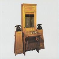 Artis Historia 2 Fiches 4 Pages 17 X 17cm Communiquer Aux 19e Et 20e  Telephone Phone Telephonie Voir Descriptif Complet - Téléphonie