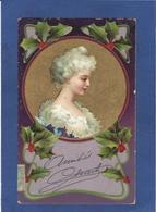CPA Portrait Femme Girl Femme Women Glamour Beauté Circulé - Other Illustrators