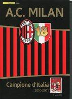 ITALIA FOLDER 2011 - MILAN CAMPIONE D'ITALIA 2010/2011 - Famous Clubs