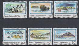 Ross Dependency 1982 Definitives 6v  ** Mnh (40897) - Ross Dependency (Nieuw-Zeeland)