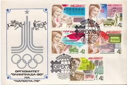 Soviet Union Set On FDC - Post