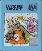 Taquin - Pousse Pousse - Ours Dans Une Niche - Lapin - Oiseaux - Brain Teasers, Brain Games