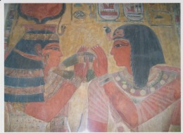 Egypt Pyramids Paintings Uncirculated Postcard (ask For Verso / Demander Le Verso) - Antichità