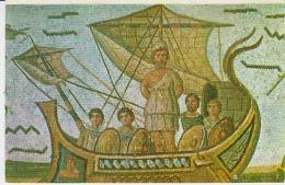 Ulysse Tunis Mosaic Uncirculated Postcard (ask For Verso / Demander Le Verso) - Antichità