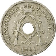 Monnaie, Belgique, 10 Centimes, 1921, TB+, Copper-nickel, KM:86 - 1909-1934: Albert I