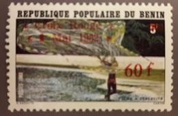 BENIN - 1982 RED CROSS CROIX ROUGE - OVERPRINT OVERPRINTED SURCHARGE SURCHARGED - RARE MNH - Bénin – Dahomey (1960-...)