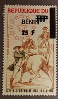 BENIN - 1976 USA BICENTENARY BICENTENAIRE - OVERPRINT OVERPRINTED SURCHARGE SURCHARGED - RARE MNH - Benin - Dahomey (1960-...)