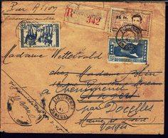 A.O.F - Enveloppe Recommandée De Ziguinchor Pour Angers, Redirigée Vers Cheniménil (FR) - B/TB - - Lettres & Documents