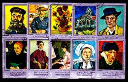 Yemen-0020 - Arte Pittorica (o) Used - Senza Difetti Occulti. - Yemen