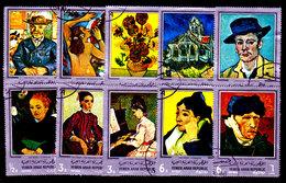 Yemen-0021 - Arte Pittorica (o) Used - Senza Difetti Occulti. - Yemen