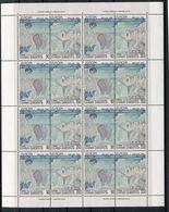 GREECE GRECE EUROPA 1993 SHEETLET OF 8 - Blocks & Kleinbögen