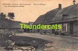 CPA GHELUWE GELUWE HOFSTEDE GHELUWEBROECK HUIS EN STALLINFEN FELDPOST 1915  1914 1918 - Wervik