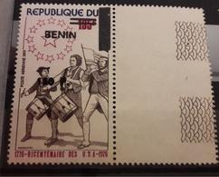 BENIN - 1976 BICENTENARY USA BICENTENAIRE   - OVERPRINT OVERPRINTED SURCHARGE SURCHARGED - RARE MNH - Benin - Dahomey (1960-...)