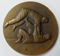 Medaille BRONZE - JUDO - Graveur DRAGO - Sports De Combat - Judokas - Martial Arts