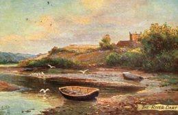 [DC7586] CPA - THE RIVER DART - OILETTE - TUCK'S - Viaggiata - Old Postcard - Angleterre