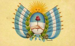 [DC7599] CPA - CARTOLINA FIRMATA ESPOSITO - Old Postcard - Non Classificati