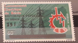 BENIN - ELECTRICITE ELECTRICITY - OVERPRINT OVERPRINTED SURCHARGE SURCHARGED - RARE MNH - Benin - Dahomey (1960-...)
