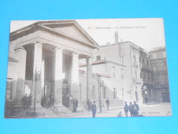 11 ) Narbonne - N° 12 - Le Tribunal Et La Poste -  Année 1905 -  EDIT - Boilet - Narbonne