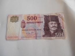 Ungheria 500 Forint - Ungheria