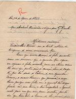 VP13.076 - Brésil - RIO DE JANEIRO 1923 - Lettre De Mr ??  Pour Mr Le Général GAMELIN - Manuscripts