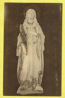 * Gistel - Ghistelles (West Vlaanderen) * (Nels, Ern Thill) Kunstbeeld Ste Godelieve, Statue Artistique, Rare - Gistel