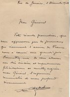 VP13.078 - Brésil - RIO DE JANEIRO 1925 - Lettre De Mr Marc CHABROL Pour Mr Le Général GAMELIN - Manuscripts
