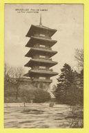 * Laken - Laeken (Brussel - Bruxelles) * (Edit S.A.B.G. - M. Marcovici) Parc De Laeken, La Tour Japonnaise, Japan, Rare - Laeken