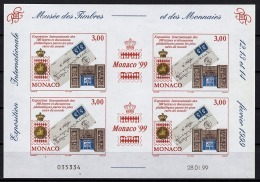 MONACO 1999 BLOC N°81 NON DENTELLE  NEUF** - Blocks & Kleinbögen