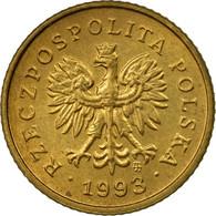 Monnaie, Pologne, Grosz, 1993, Warsaw, TTB, Laiton, KM:276 - Pologne
