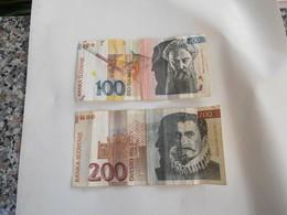 Slovenia 100 E 200 Tolarjev - Ungheria