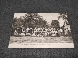 ANTIQUE POSTCARD PORTUGAL SÃO TOMÉ  - SERVICAES DA ROÇA MONTE MACACO UNUSED - Sao Tome And Principe